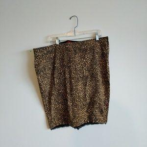 Tripp nyc leopard skirt